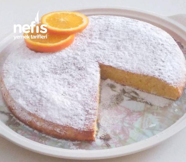 İtalyan Usulü Portakallı Kek