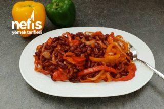 Kırmızı Barbunya Salatası Tarifi