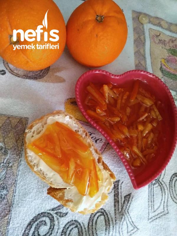 Portakal Kabuğu Reçeli (Acısız Garantili Tarif)