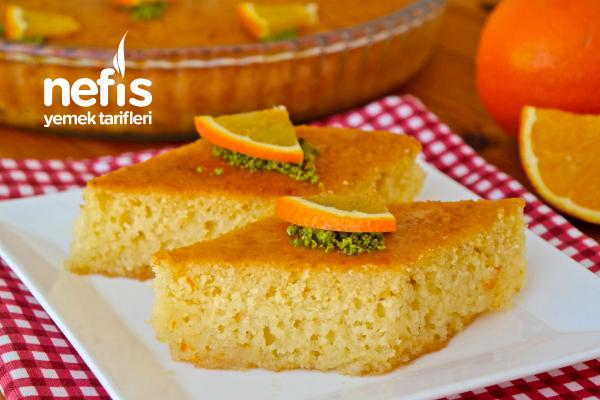 Portakallı Revani Tarifi (videolu)