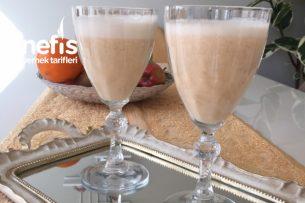 Şeftalili Milkshake Tarifi