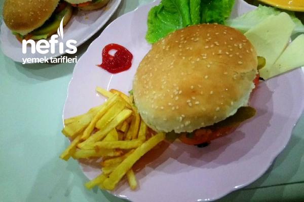Ustasından Orijinal Hamburger Tarifi