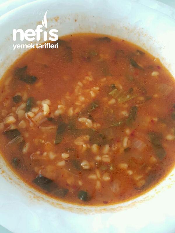 Vitamin Deposu Ispanak Çorbası
