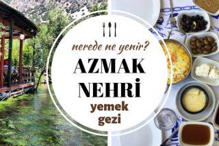 Azmak Nehri Sakin ve Huzurlu 8 Kahvaltı Mekanı Tarifi