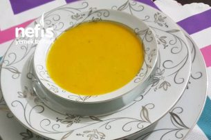 Bal Kabağı Çorbası (Muhteşem Lezzet) Tarifi