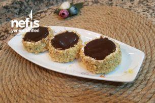 Burçak Bisküvili Mini Pastacıklar (Çok Pratik Ve Leziz) Tarifi