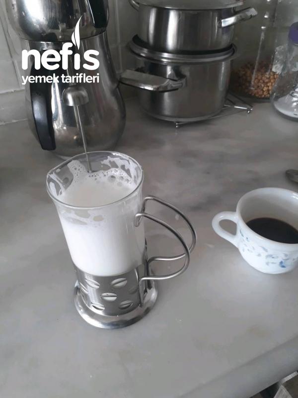 Evde Latte Macchiato