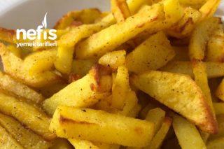 Fırında Zerdeçal Soslu Çıtır Patates Tarifi