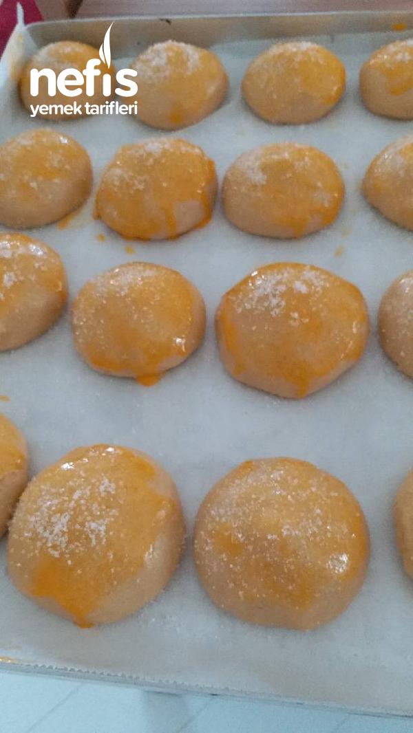 Portakallı Anne Kurabiyesi(asker Pastası)