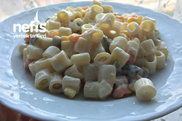 Pratik Makarna Salatası (Turşulu) Tarifi