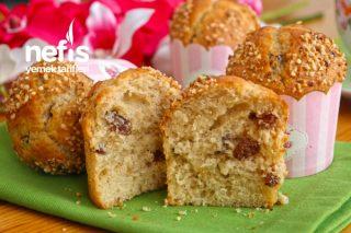 Üzümlü Muffin (videolu) Tarifi