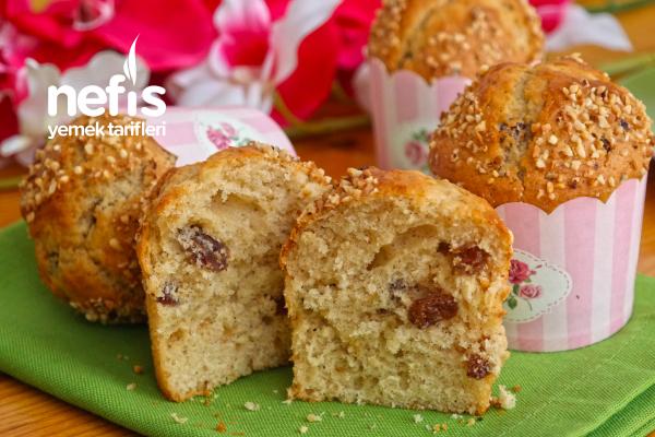 Üzümlü Muffin