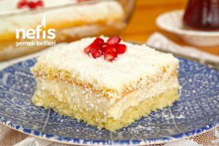 Yaş Pasta Tadında Yumuşacık Borcam Pastası (videolu) Tarifi