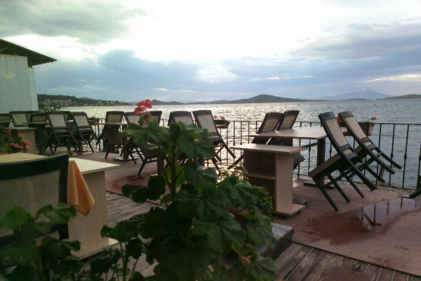ayvalık deniz kestanesi restoran