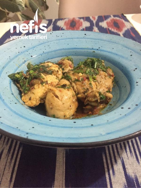 Çahohbili -tavuk yemeği(Gürcistan mutfağından)