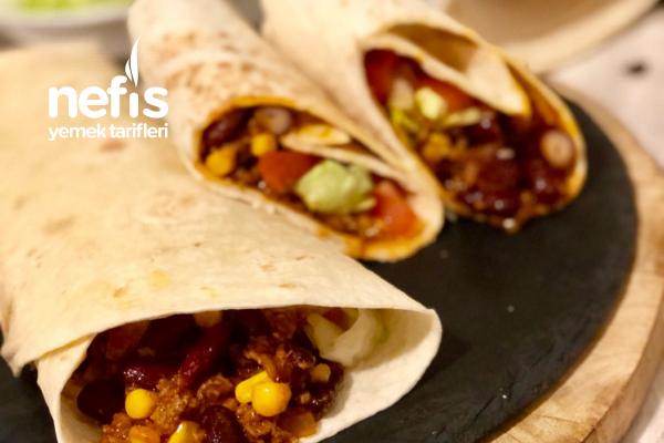 Chili Con Carne Dürüm – Meksika Dürümü – Resimli Anlatım Tarifi