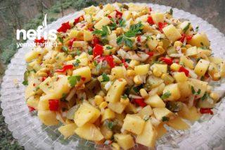 Kızartma Patates Salatası Tarifi