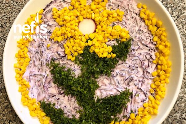 Mor Sultan Salatası Tarifi