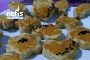 Tuzlu Kurabiye ( Pastanelere Rakip Olabilen Mahlepli Kurabiye ) Tarifi