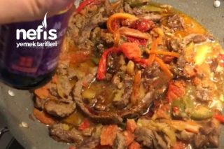 Biftek Fajita (Soya Soslu) Tarifi