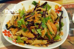Dolapta Kalanlar Bozulmasın Makarnalı Salatası Tarifi