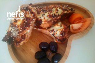 Peynirli Ekmek Kanepe Tarifi