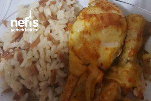 Sar Pişir Tekniğiyle Körili Tavuk Baget/Patates Tarifi