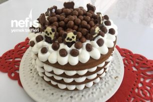 YAPIMI KOLAY PRATİK Doğum Günü Pastası (Videolu) Tarifi