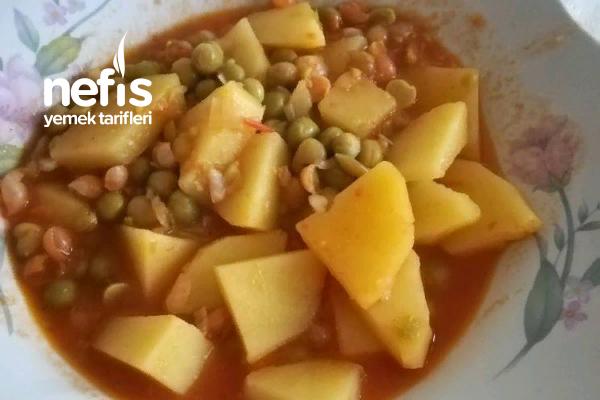 Bezelyeli Patates Yemeği Tarifi
