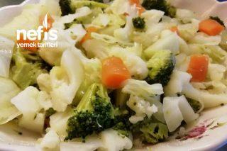 Kış Sebze Salatası Tarifi