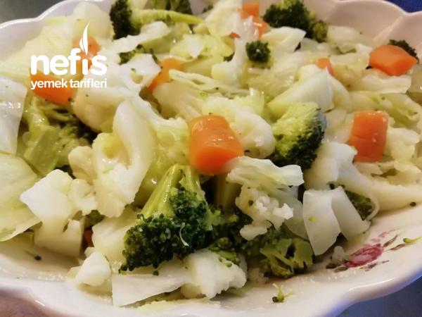 Kış Sebze Salatası