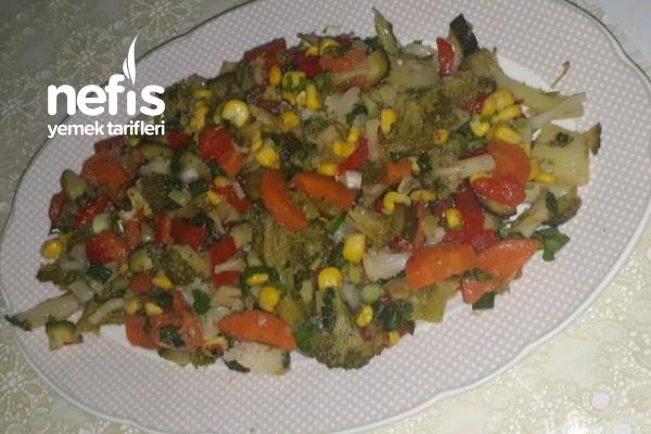 Rengarenk Salata Tarifi