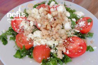 Peynirli Cevizli Salata Tarifi