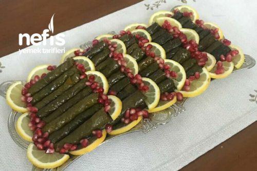 Zeytinyağlı Yaprak Sarma Tarifi