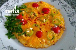 5 Dakikalık Omlet Tarifi