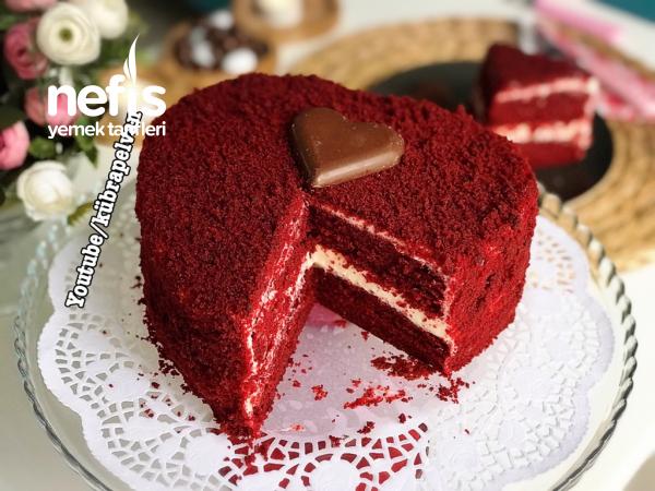 Bu Pasta Aşk Tazeletir/red Velvet Cake/kırmızı Kadife Pasta