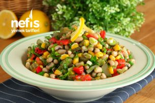 Lezzetli ve Çok Doyurucu Börülce Salatası Tarifi