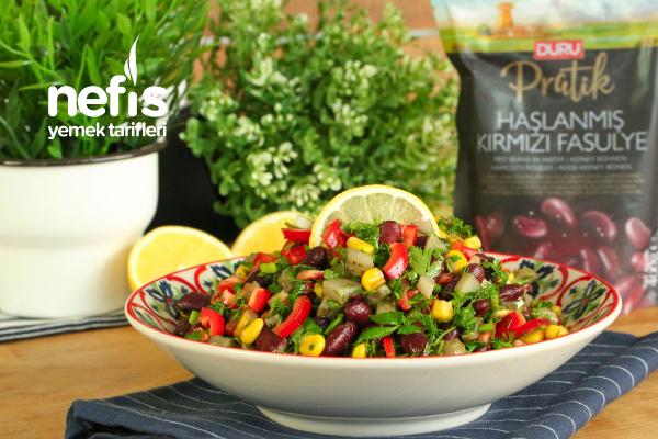 Duru Pratik Kırmızı Fasulye Salatası