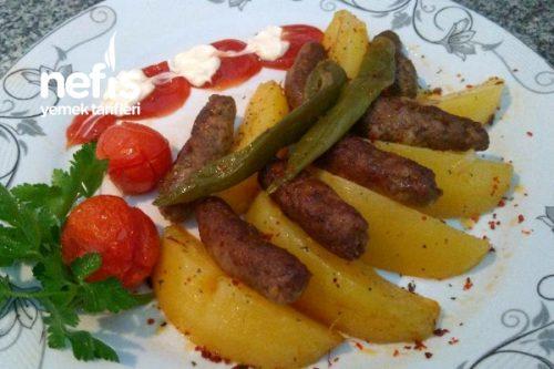 Fırında Patatesli Parmak Köfte Tarifi