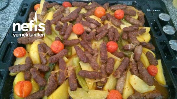 Fırında Patatesli Parmak Köfte