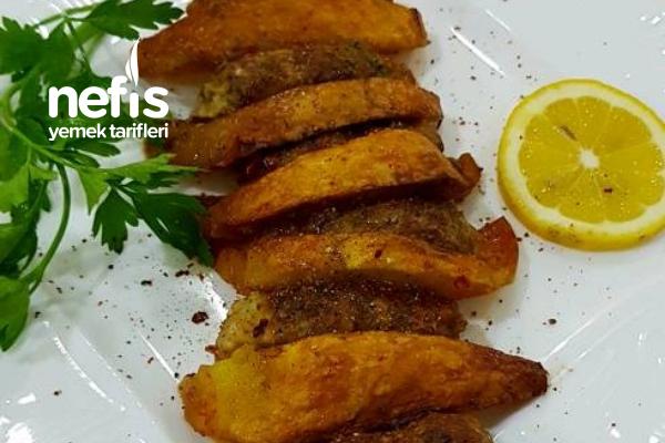 Fırında Tavuk Köfte Patates Tarifi