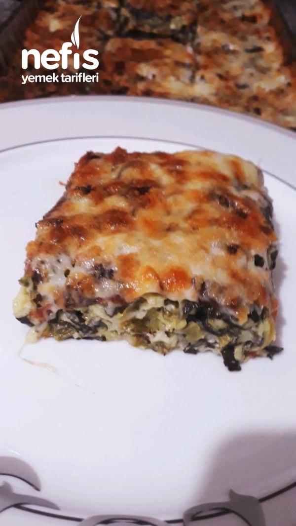 Ispanaklı Sufle börek  (ıspanak sevmeyen kalmayacak)