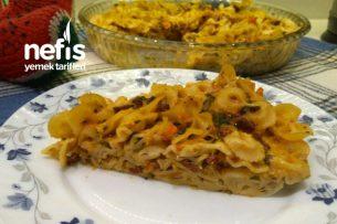 İtalyan Usulü Fırında Sebzeli Makarna Tarifi