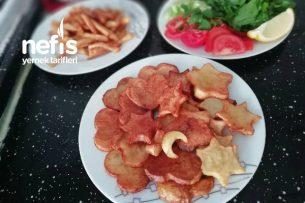 Kurabiye Kalıbı İle Patates Kızartması Tarifi