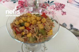 Renkli Arpa Şehriye Salatası Tarifi