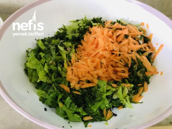 Renkli Kış Salatası(brokolili)
