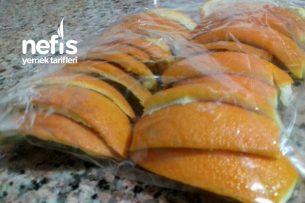 Yazın Portakal Kabuğu Tarifi