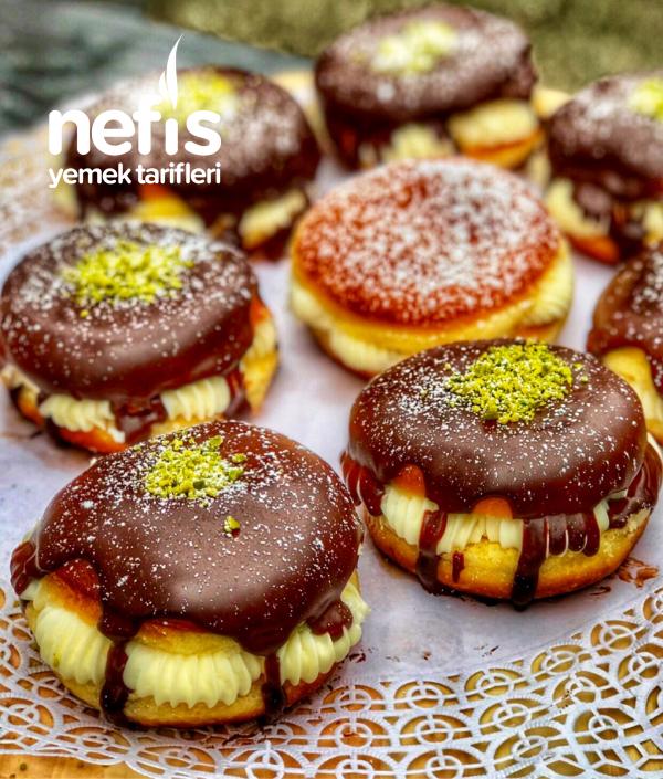 Alman Pastası Berliner (krema Dolgulu)