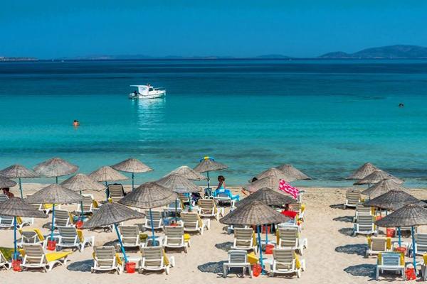 ılıca plajı