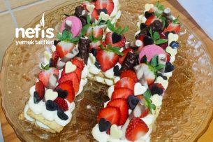 Harfli Kurabiye Pasta Tarifi